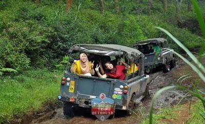 Wisata Offroad Di Lembang Bandung - Outbound Lembang Bandung