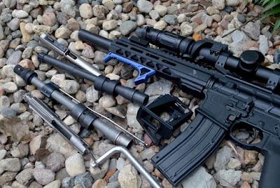 .22 LR, 9mm, 223, shown