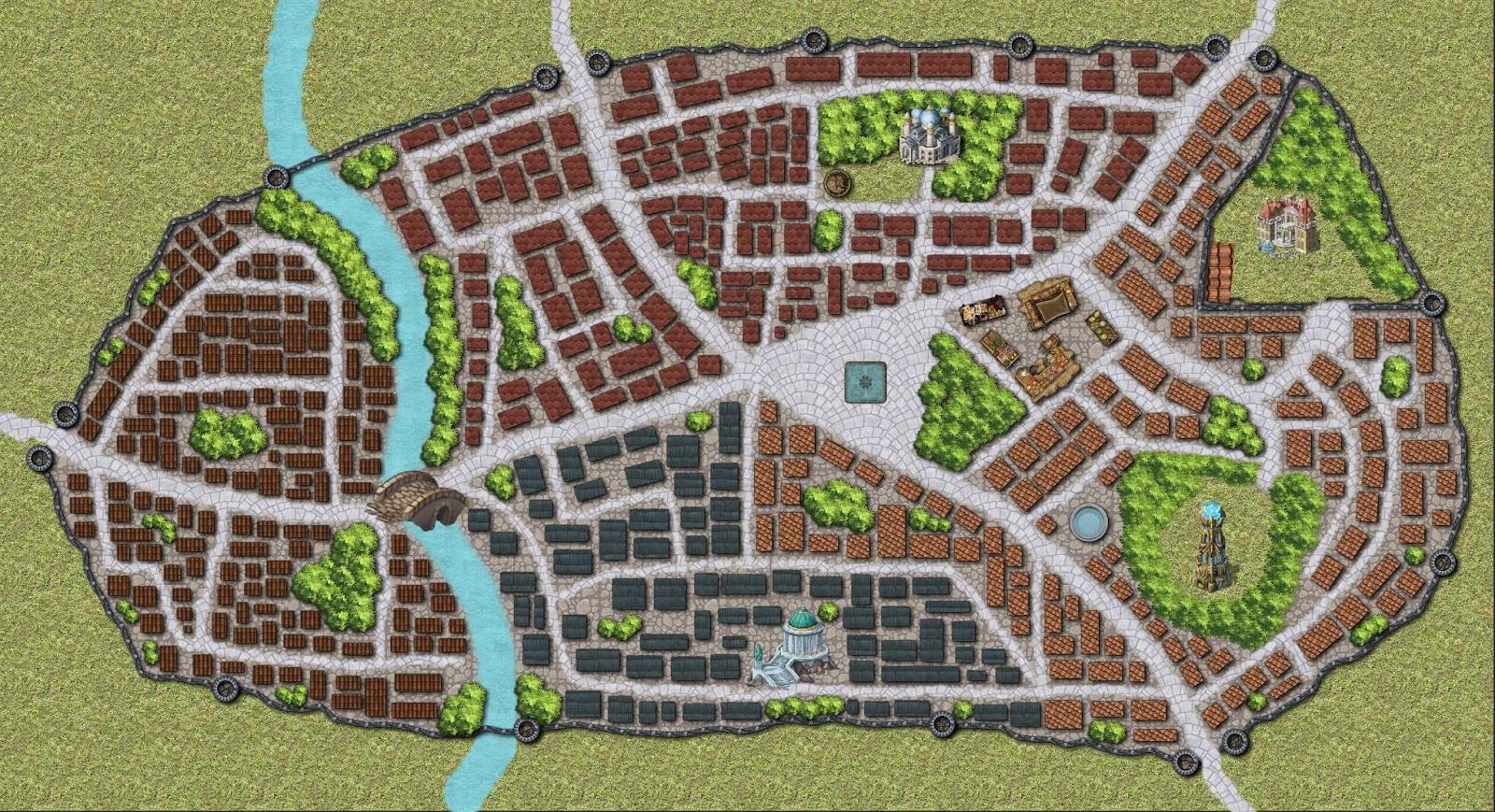 Aventura de nivel 1 para Dungeons & Dragons - Ladrones de Sueños - Ciudad de Tybra