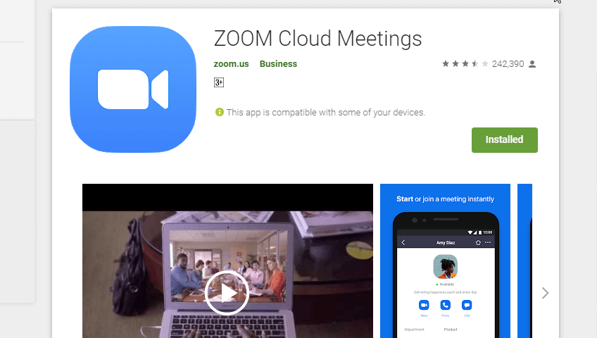 Cara Memakai Aplikasi Zoom Untuk Meeting Online Di Hp Android