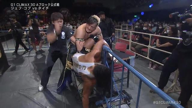 TAICHI vs. Jeff Cobb at G1 Climax 30