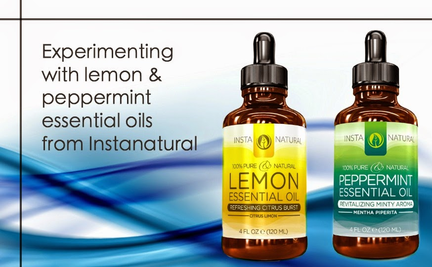 Instanatural essential oil review: lemon and peppermint