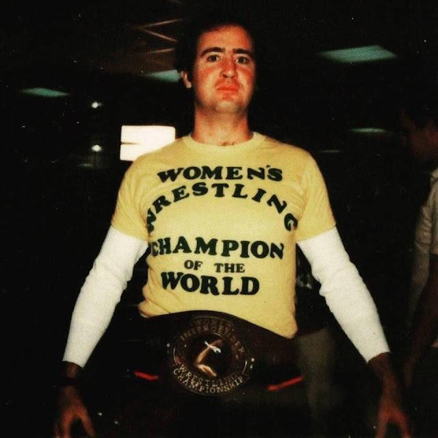 Andy Kaufman wrestling shirt. PYGear.com