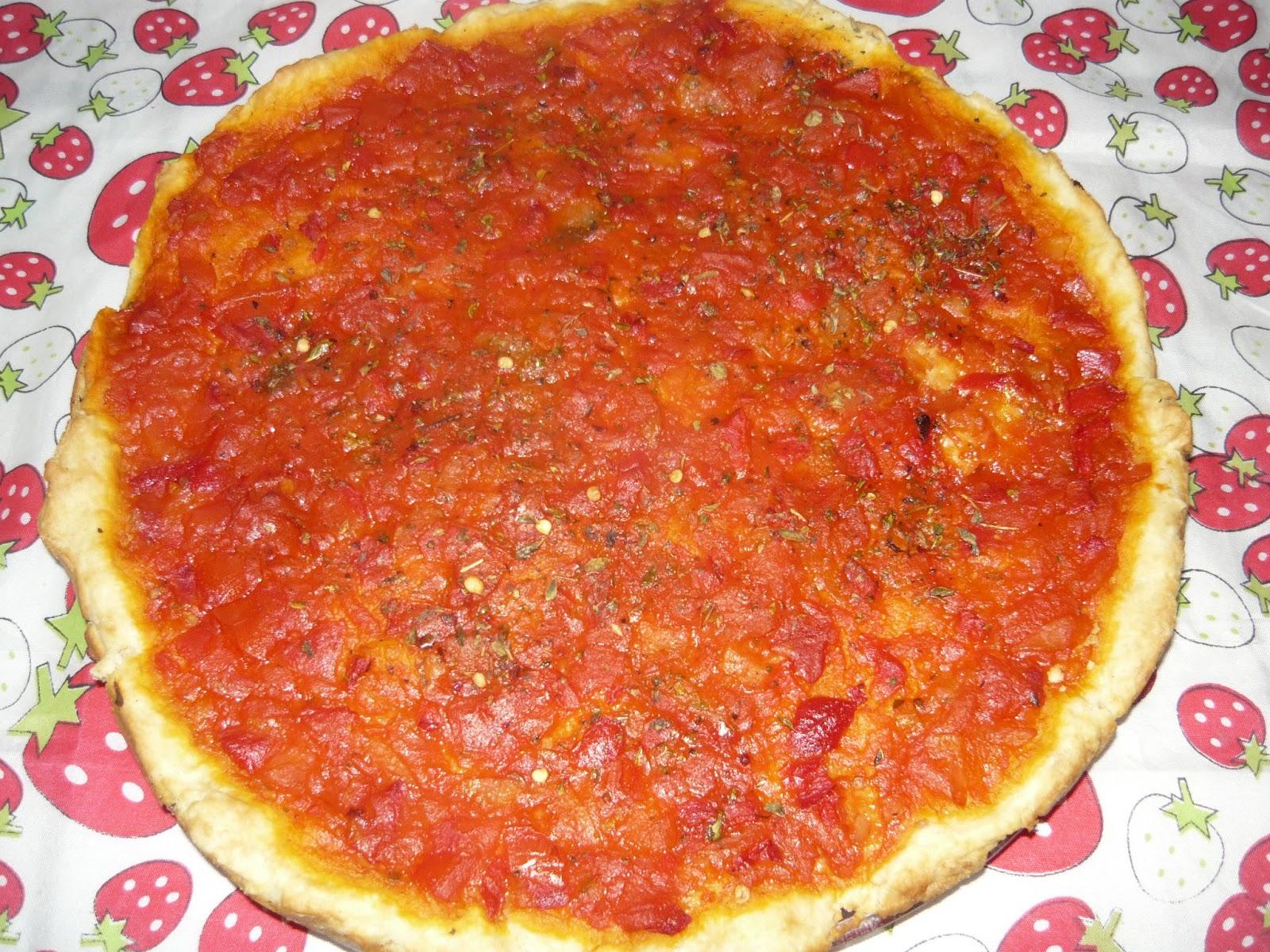 pizza sin levadura como hacer
