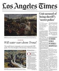 Los Angeles Times Magazine 23 September 2021