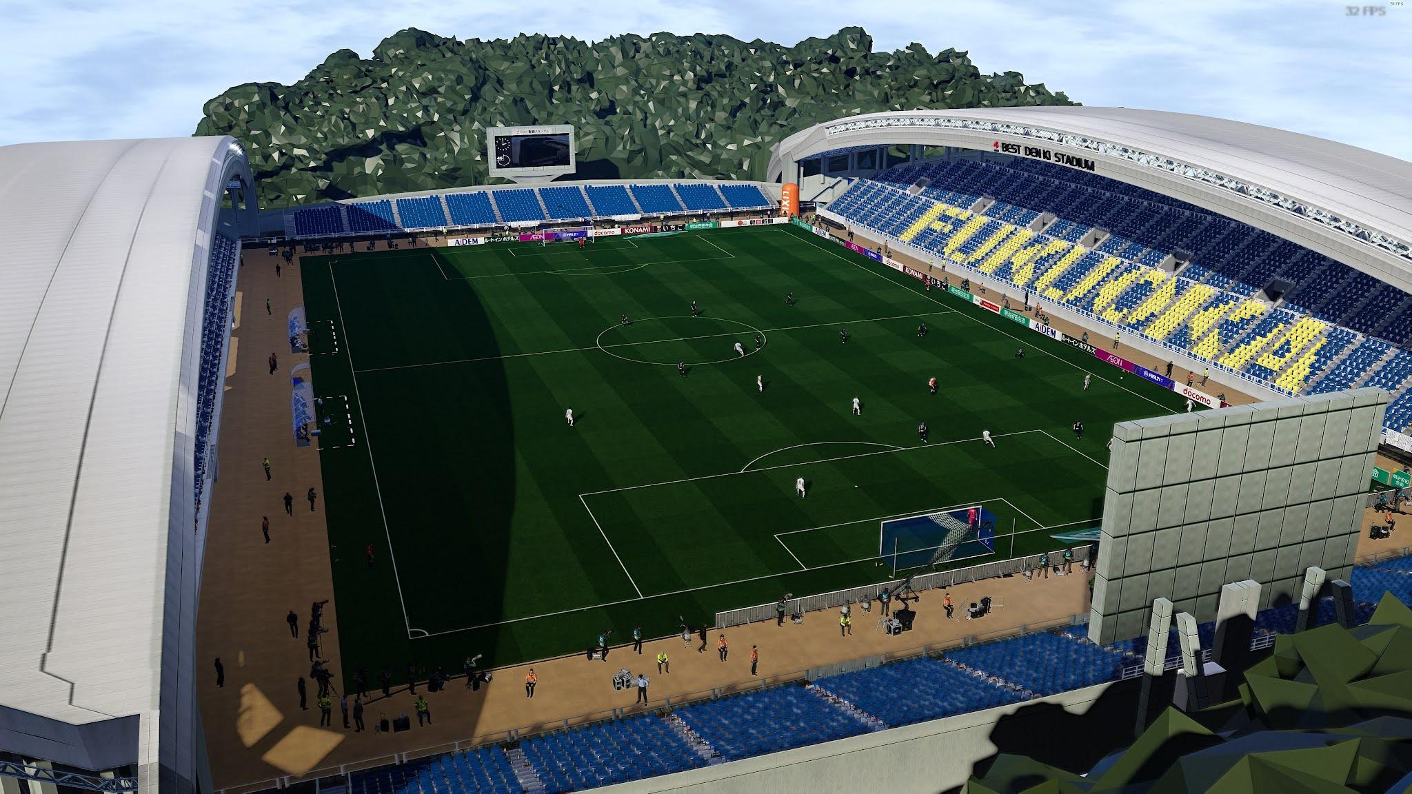 PES 2021 Stadiums Best Denki Stadium