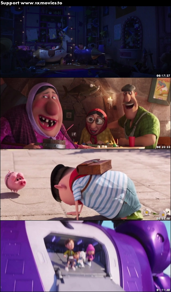 Despicable Me 3 2017 English 720p WEBRip 700MB