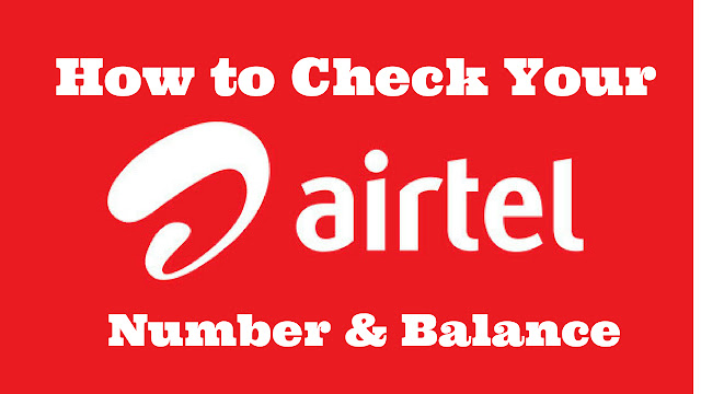 How To Check Airtel Number?