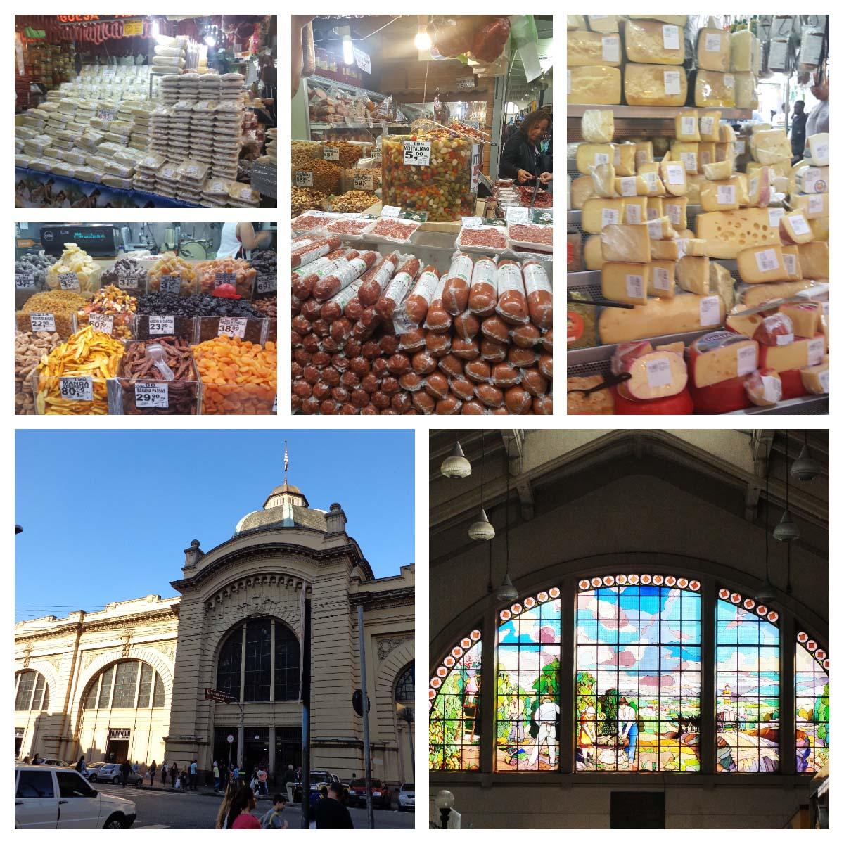 Mercados e Food Market no mundo.