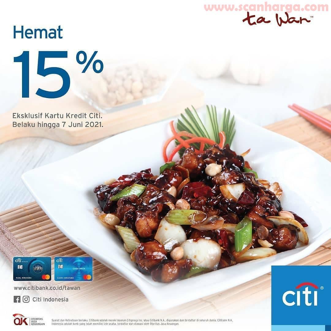 Promo Tawan Hemat 15% Dengan Kartu Kredit City Bank