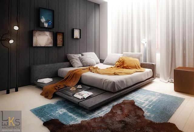 Dormitorios para hombre for Ideas para decorar tu cuarto hombre