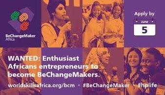 Apply Now | BeChangeMaker Africa 2021 Social Entrepreneurship Acceleration Programme for Young Africans