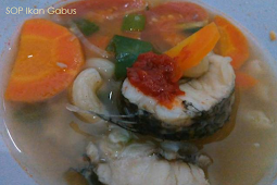 Resep SOP Ikan Gabus untuk mempercepat pemulihan Pasca Operasi