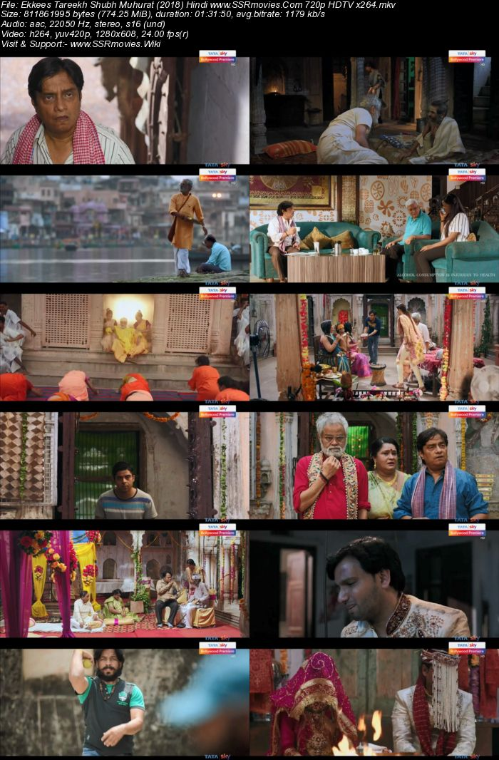 Ekkees Tareekh Shubh Muhurat (2018) Hindi 720p HDTV x264 700MB Movie Download