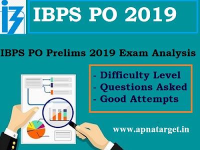 IBPS PO Exam Analysis 2019