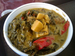 Spicy Vegetarian Cowpeas and Bitter Leaf Stew
