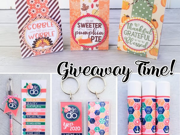 NEW PRINTABLES for Thanksgiving & 2020 + GIVEAWAY!