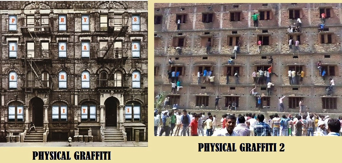 led zeppelin to use bihar school cheating photograph as album cover