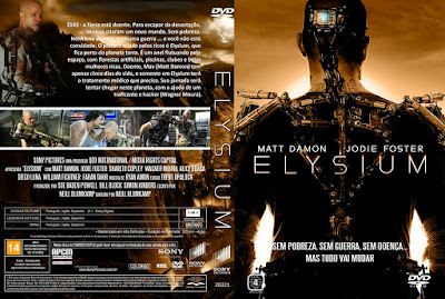 Filme Elysium DVD Capa