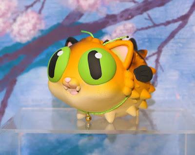San Diego Comic-Con 2021 Exclusive Puffer Puss Mochi Edition Resin Figure by Martin Hsu
