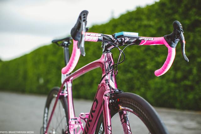 Specialized S-Word Tarmac, la bici ROSA de Nibali en el giro 2016
