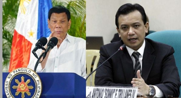 "Trillanes slams Duterte's revocation of his amnesty, calls it ""political persecution"""
