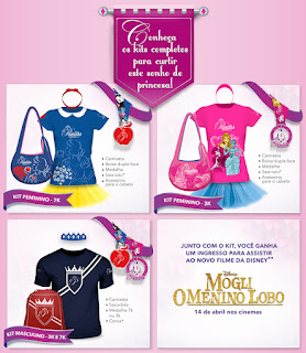 Kit coureur Disney Princess Magical Run Sao Paulo 2016