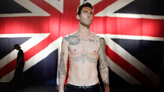 Adam-Levine-British-Flag-without-shirt