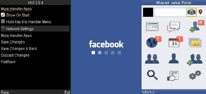 Face Book Lite Java