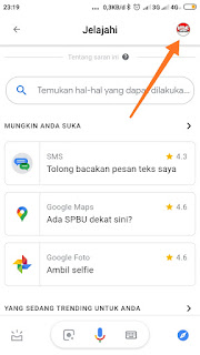 Mematikan asisten google