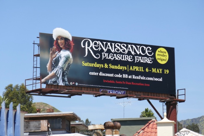 2019 Renaissance Faire extension billboard