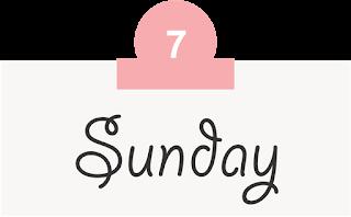 Nama nama hari dalam bahasa inggris, bahasa Inggrisnya hari minggu adalah sunday, bahasa indonesianya sunday adalah hari minggu