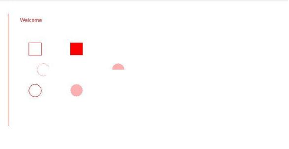 Java program to print shapes using applet