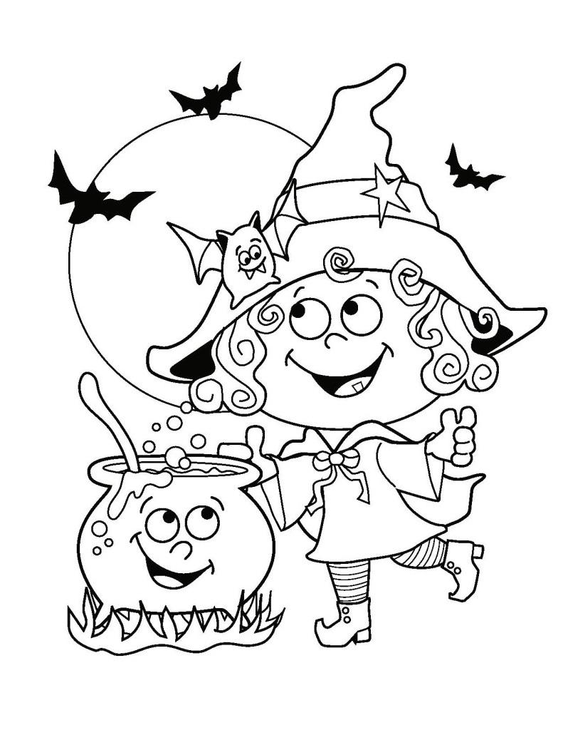 desenhos para colorir e imprimir  desenhos do halloween