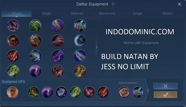 Build Hero Natan By Jess No Limit