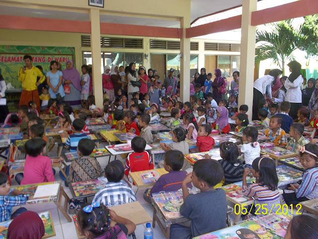 SMK Bustanul Ulum - Lomba Menggambar & Mewarnai B.U. Expo 2012