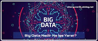 Big Data Nedir Ne İşe Yarar?