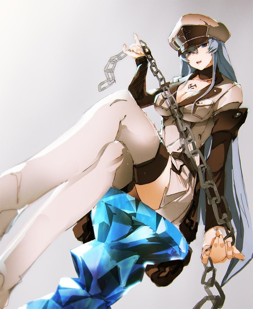 esdeath with chains