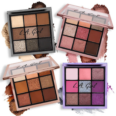 La Girl Keep It Playful Eyeshadow Palettes