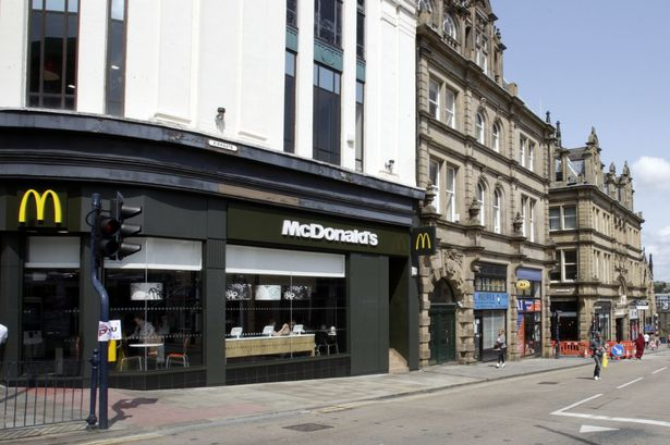 Metal plate in jaw after man is headbutted in street brawl outside McDonalds