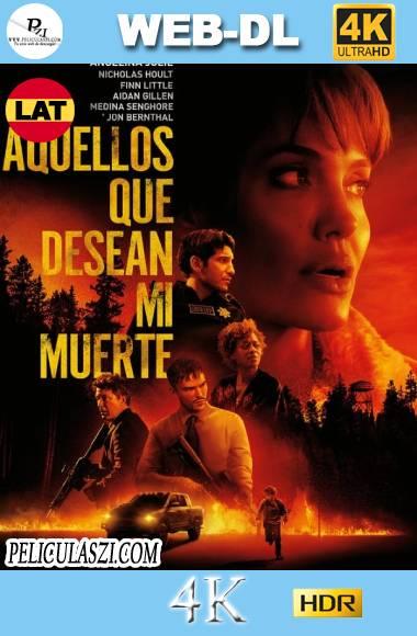 Aquellos que Desean mi Muerte (2021) Ultra HD HMAX WEB-DL 4K HDR Dual-Latino VIP