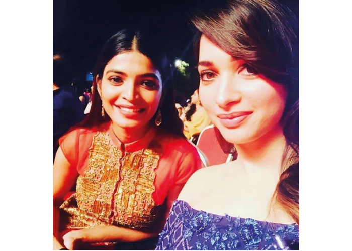 Sanchita Shetty With tamannaah bhatia