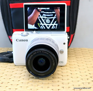 Jual Kamera Mirrorless Canon EOS M10 - Banyuwangi