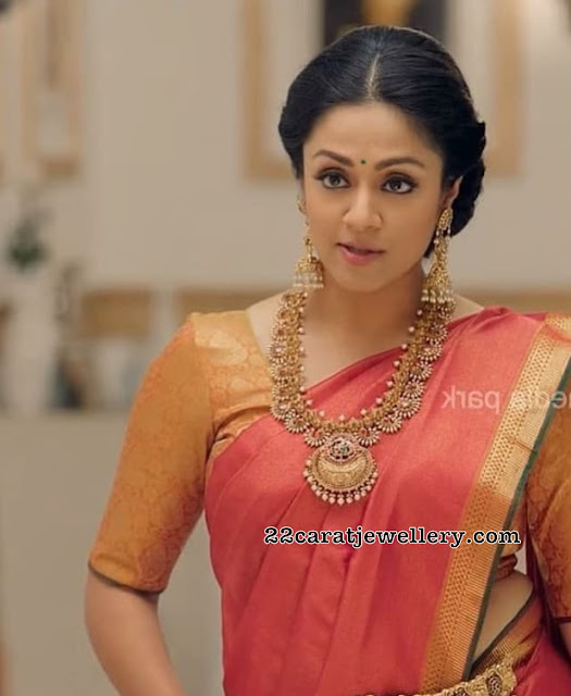 Jyothika Antique Pearl Haram
