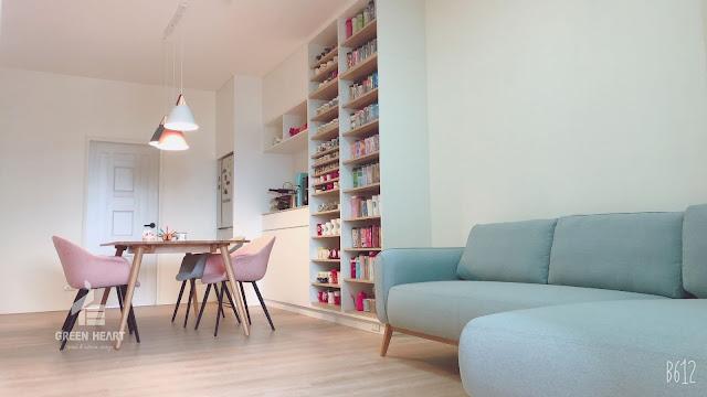 新竹竹北老屋翻修輕裝潢室內設計裝潢完工案例分享住宅空間設計,預售屋客變規劃
