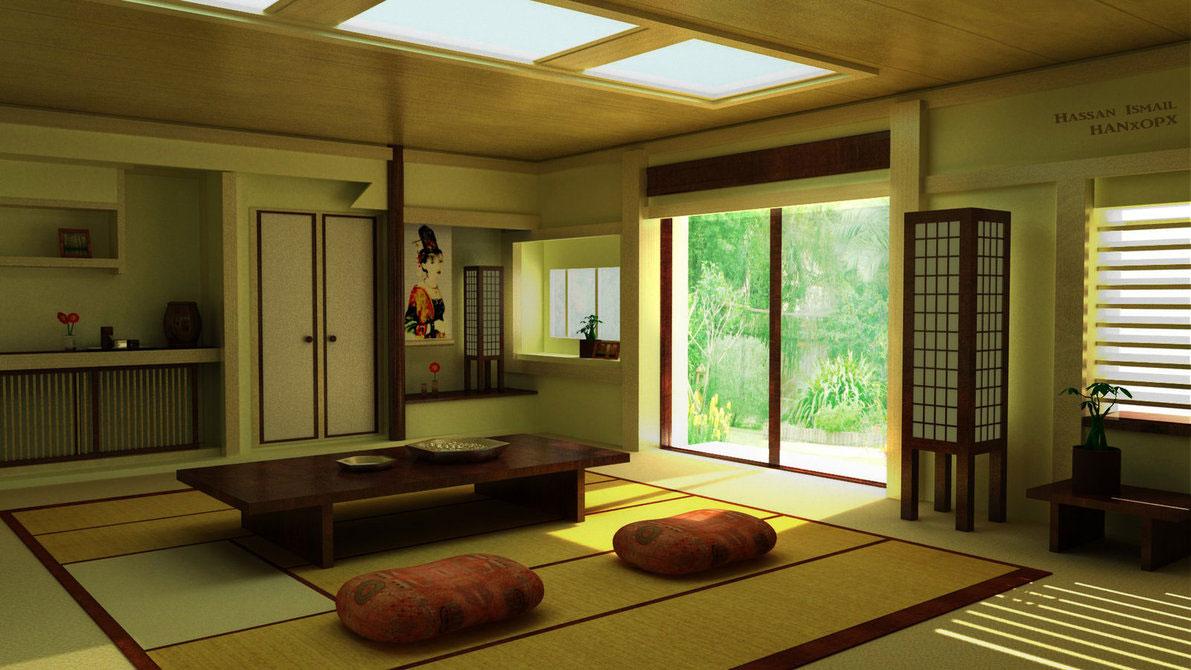 41 Desain Interior Rumah Ala Jepang