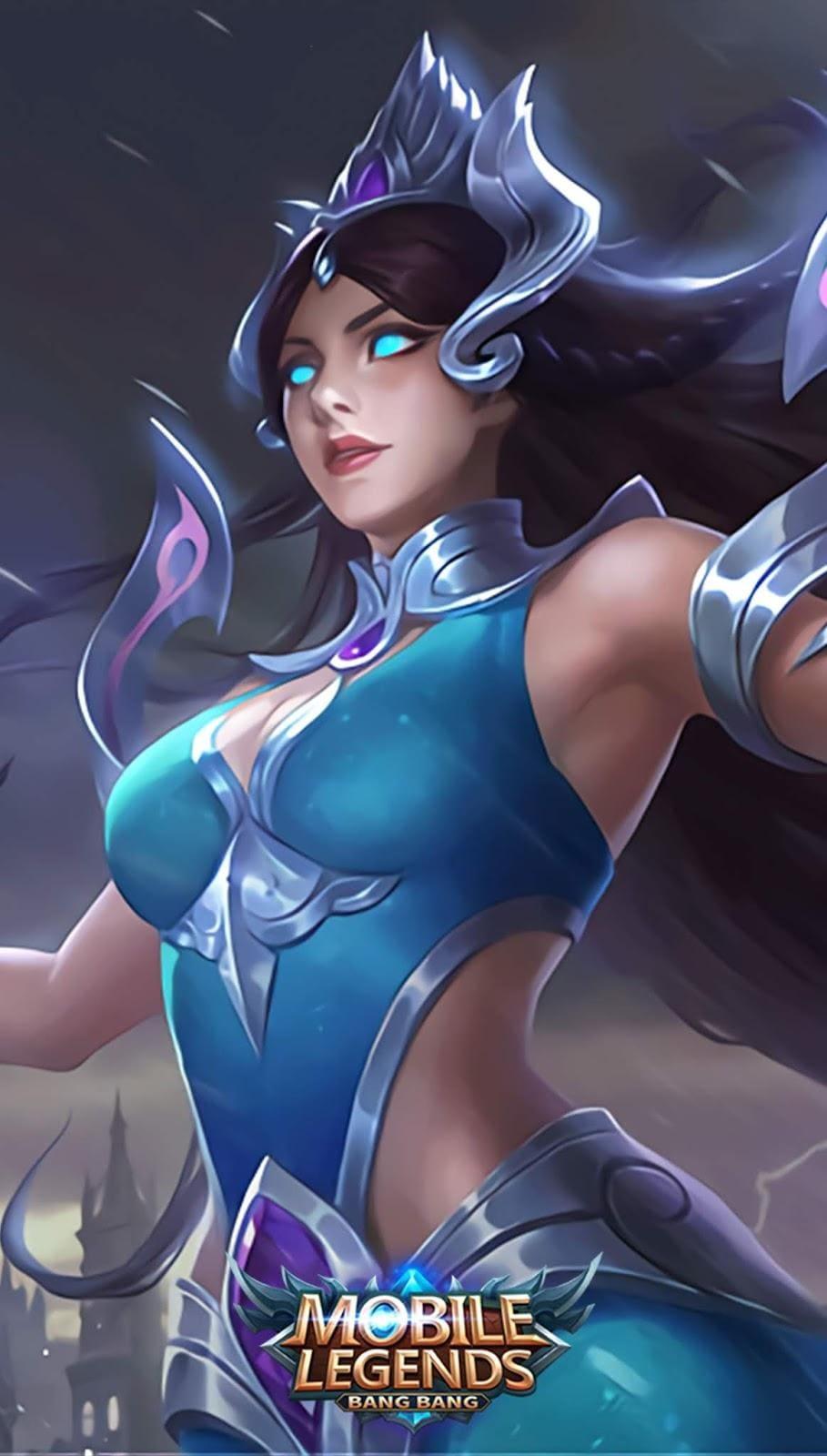 Wallpaper Kadita Atlantean Princess Skin Mobile Legends HD for Android and iOS