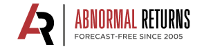 Abnormal Returns logo finance blog links investing
