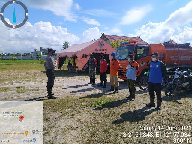 Giat Pelaksanaan Patroli Dan Sosialisasi Pencegahan Kebakaran Hutan Dan Lahan Di Wilkum Polsek Jaya Karya