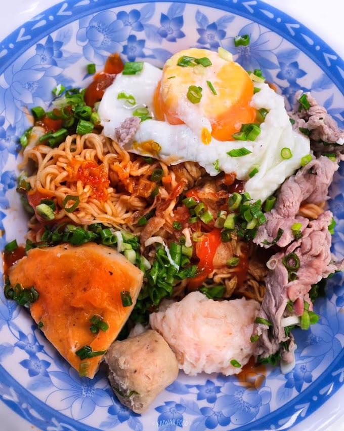 Bún nước mì trộn cô Dung - Phú Nhuận